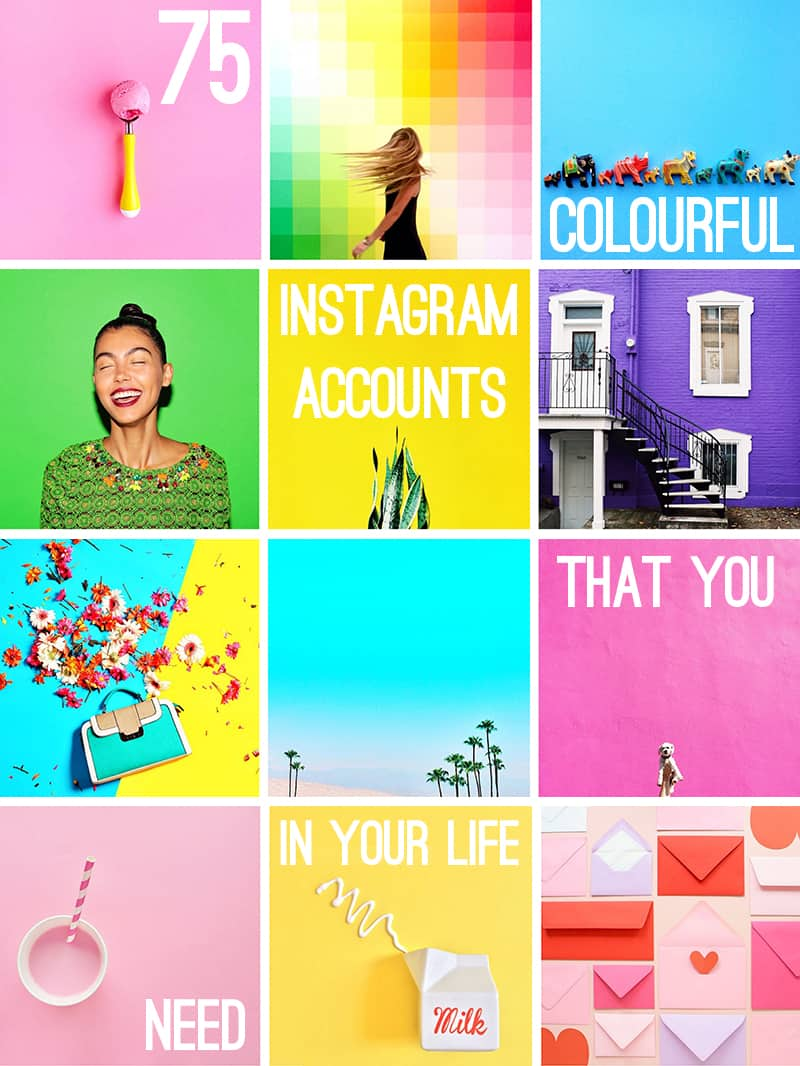 Colourful Instagram Accounts To Follow