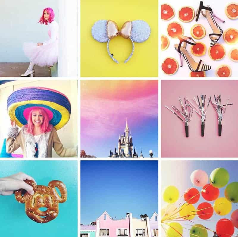 Kaylyn Weir colorful Instagram account