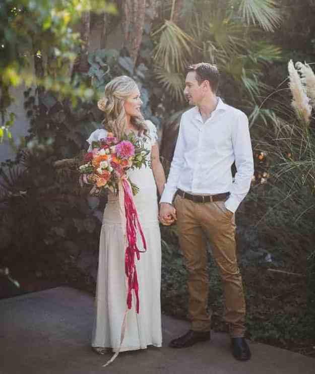 Laid Back Palm Springs Wed GWS