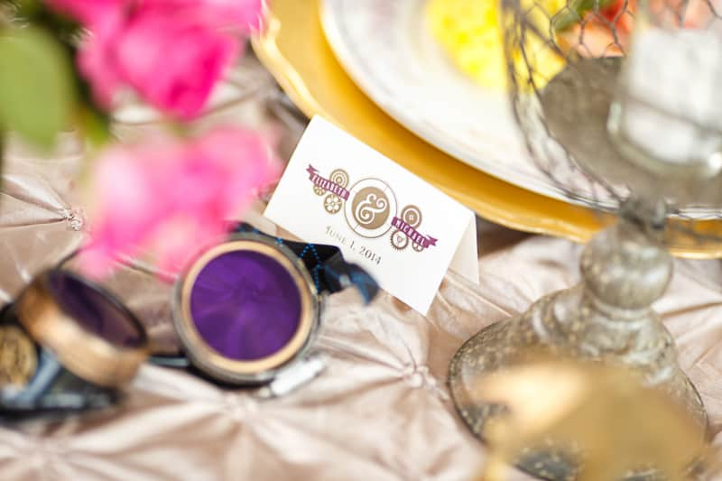 Steampunk Colourful Vibrant Colours Pink Wedding Inspiration-10
