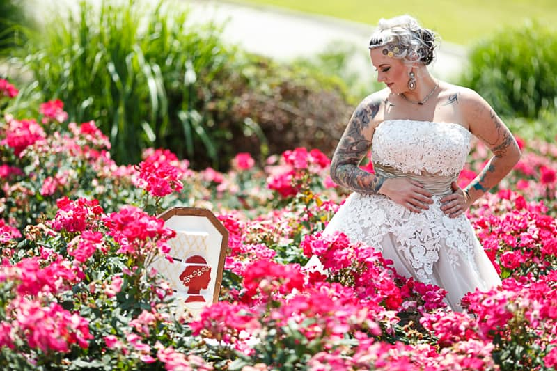 Steampunk Colourful Vibrant Colours Pink Wedding Inspiration-20