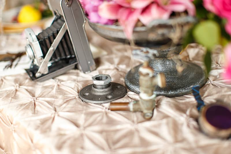 Steampunk Colourful Vibrant Colours Pink Wedding Inspiration-27