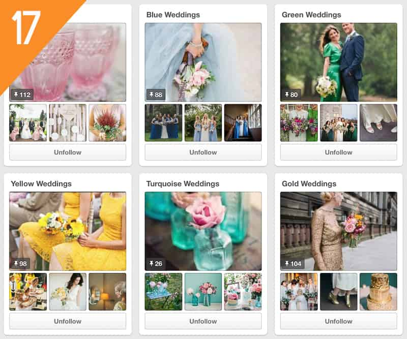 17 Love My Dress Wedding Pinterest Accounts to follow