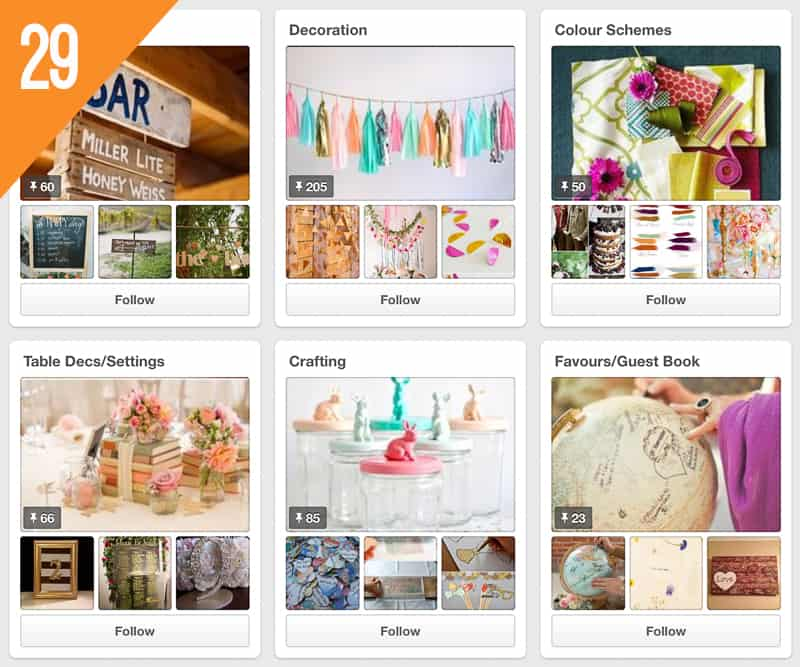 29 The House Meadow Wedding Inspiration Pinterest Accounts Follow