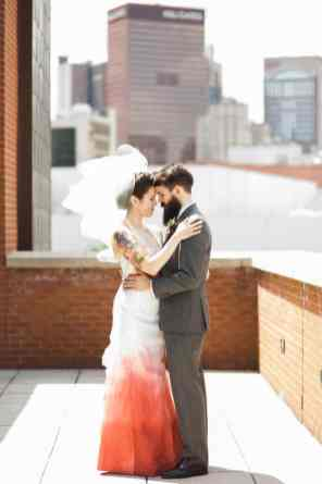 Ombre Wedding Gown for Urban Wedding (17)