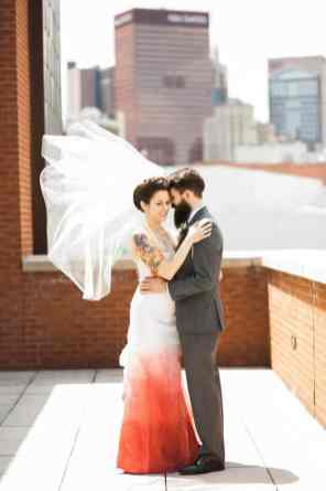 Ombre Wedding Gown for Urban Wedding (18)
