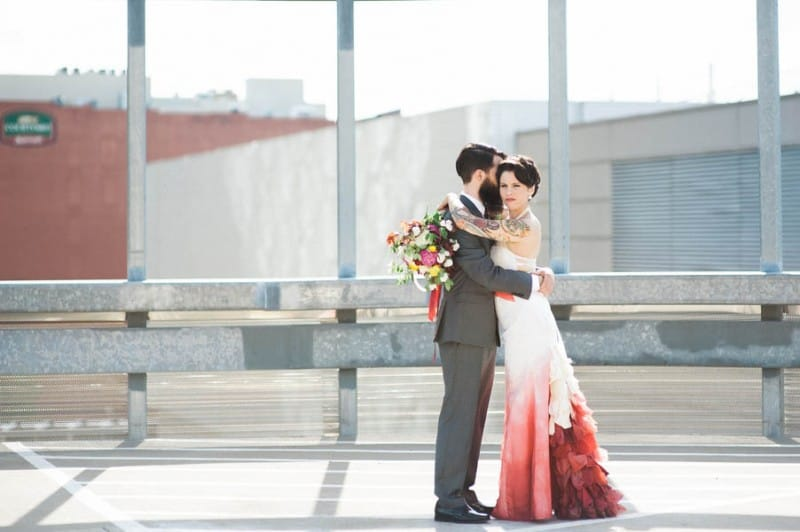 Ombre Wedding Gown for Urban Wedding (25)