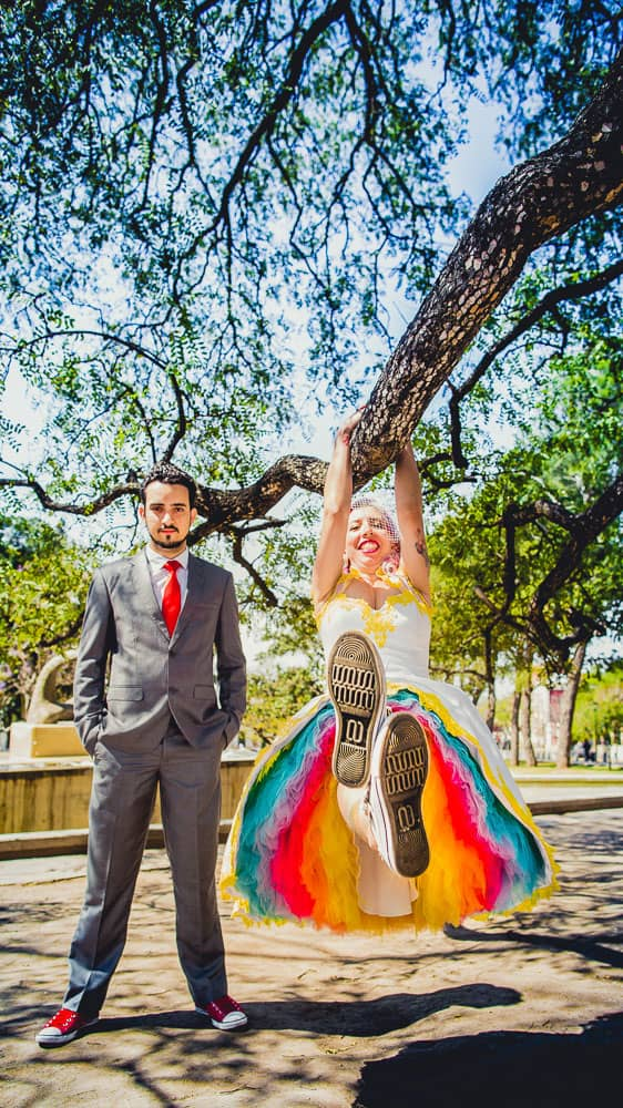 Rainbow-brazilian-wedding-Rock N Roll Bride