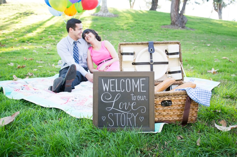 Up Themed Engagement Shoot 1