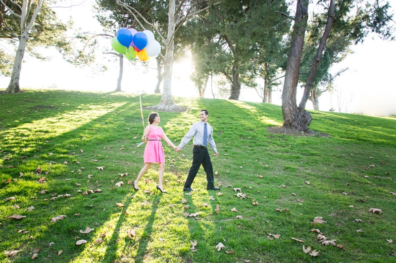 Up Themed Engagement Shoot 11