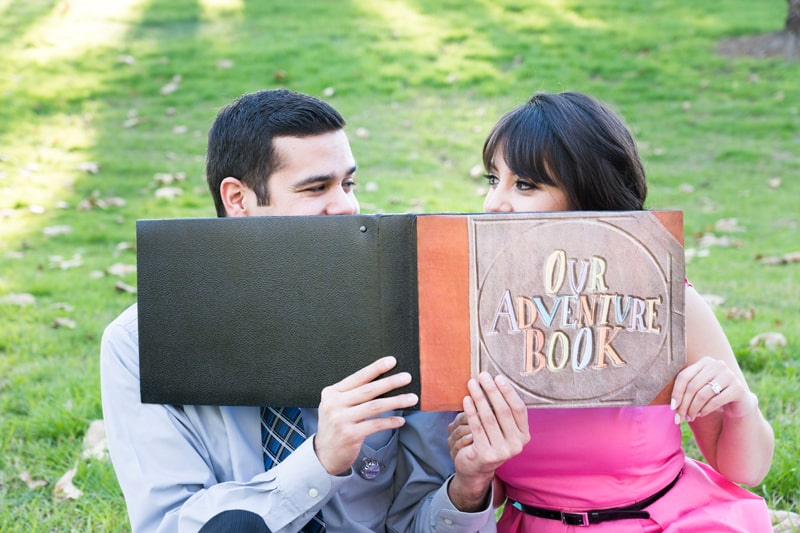 Up Themed Engagement Shoot 9