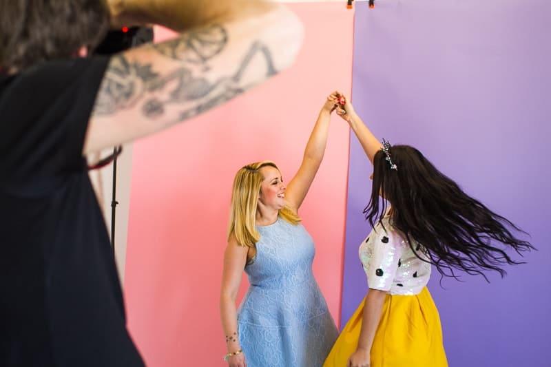 Behind The Scenes Bespoke Bride Media Kit Shoot Craig Dearsley-15