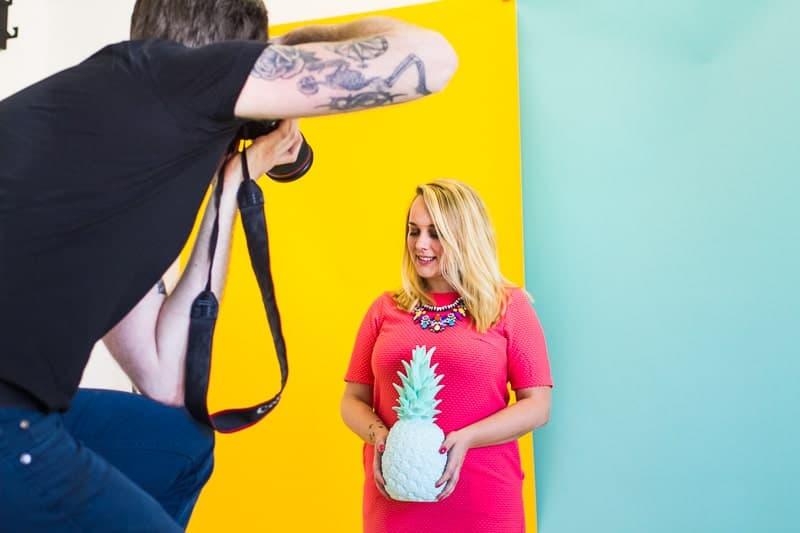 Behind The Scenes Bespoke Bride Media Kit Shoot Craig Dearsley-6