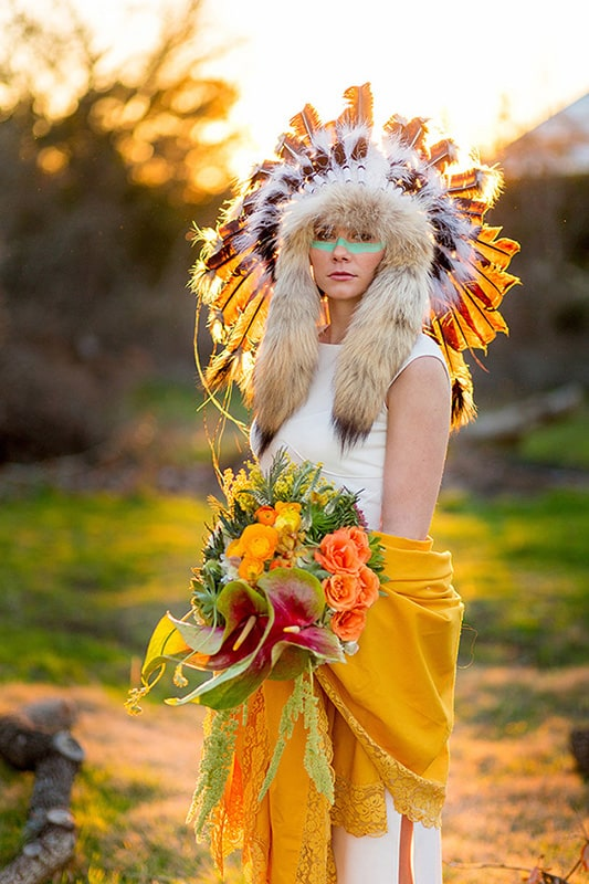 Festival Brides Tribal Inspired Shoot 1