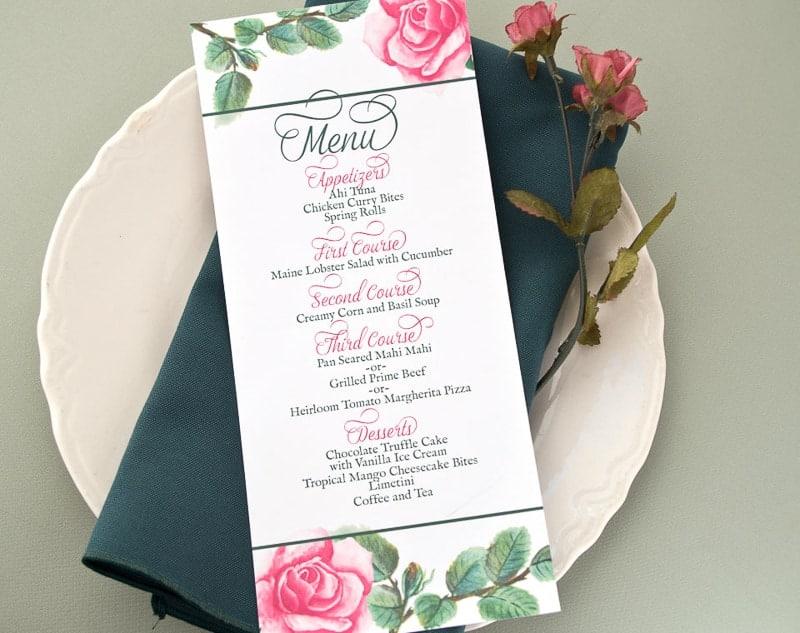 roses-menu