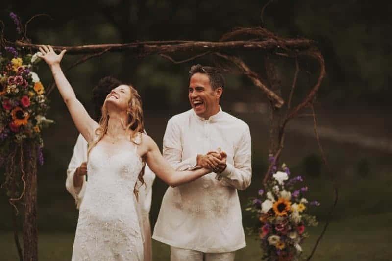A BRIGHT & BEAUTIFUL TECHNICOLOUR WEDDING IN THE RAIN! (11)