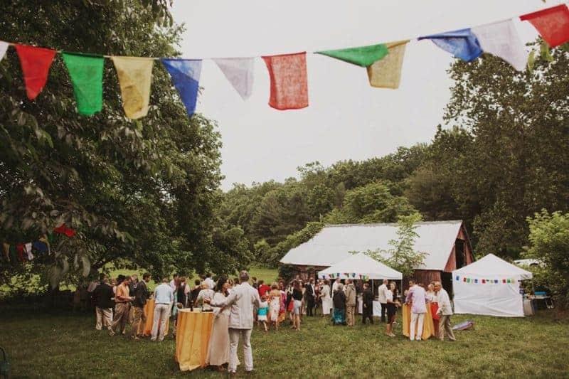 A BRIGHT & BEAUTIFUL TECHNICOLOUR WEDDING IN THE RAIN! (17)