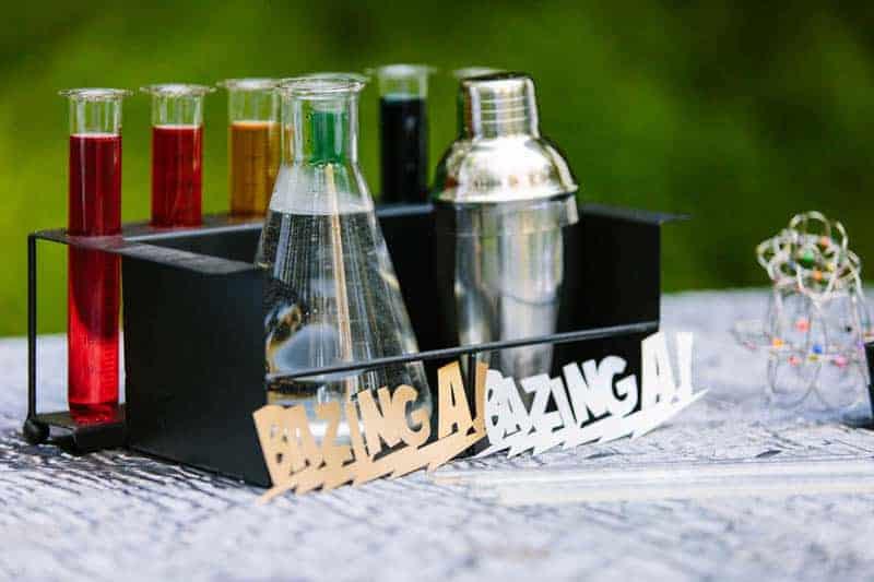 Big Bang Themed Science Wedding Inspiration (12)