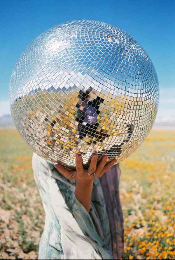 Disco Ball by Toad Weaver