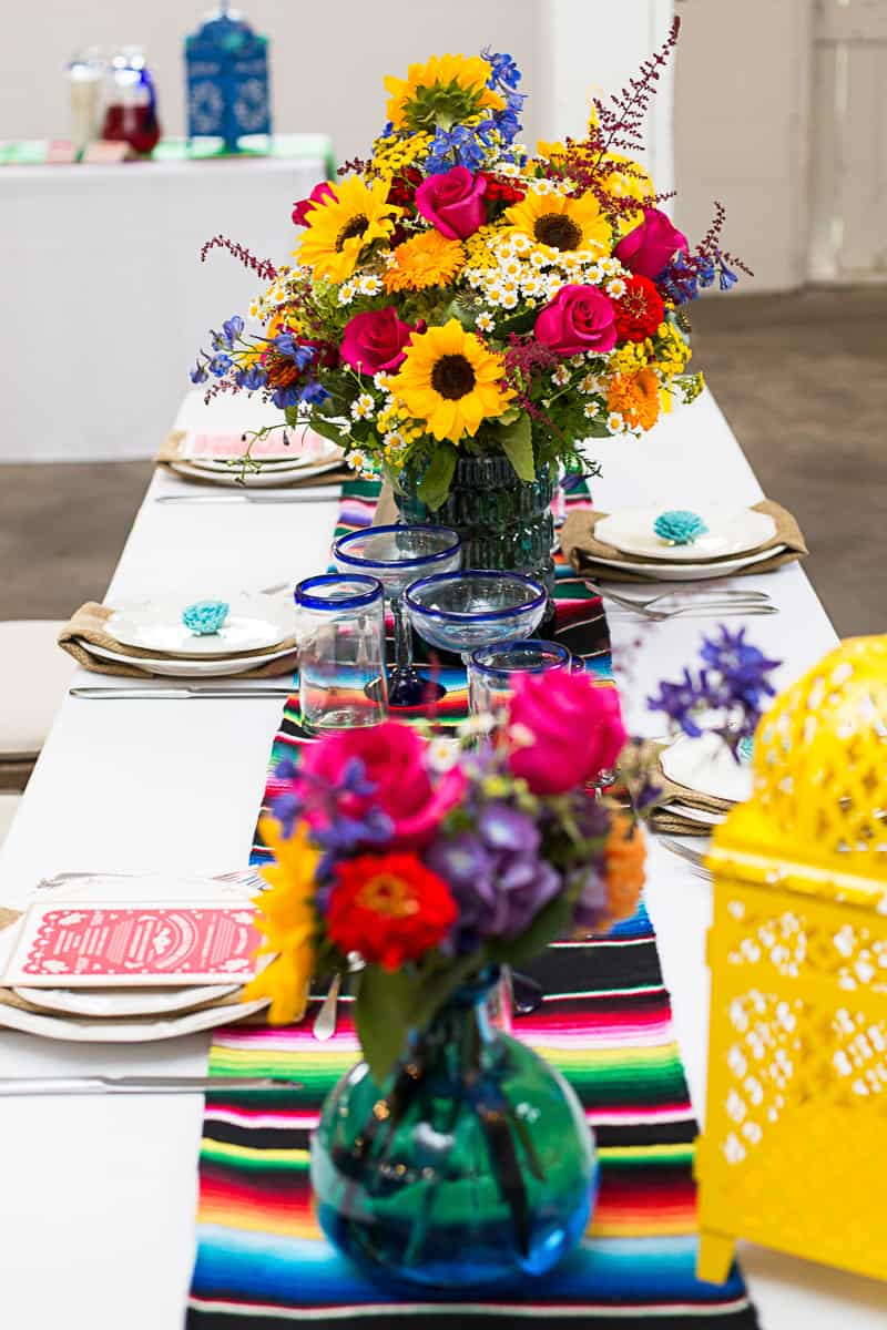 How to style a mexican themed table wedding inspiration 11