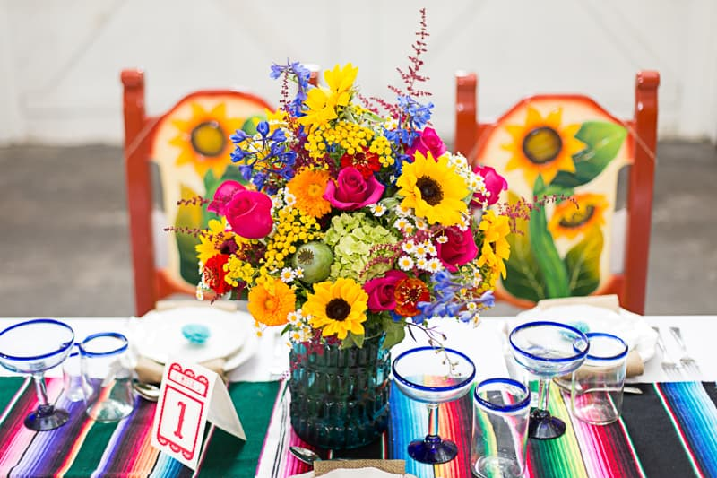 How to style a mexican themed table wedding inspiration 4