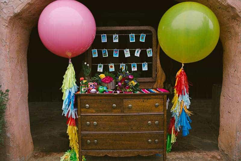 Mexican Fiesta Wedding Inspiration Giant Balloons Cinco De Mayo Dia De Los Muertos_-29