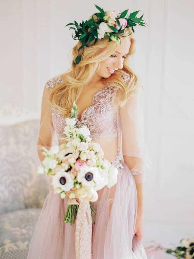 Soft Romantic Boudoir Shoot Session Bespoke Bride 11