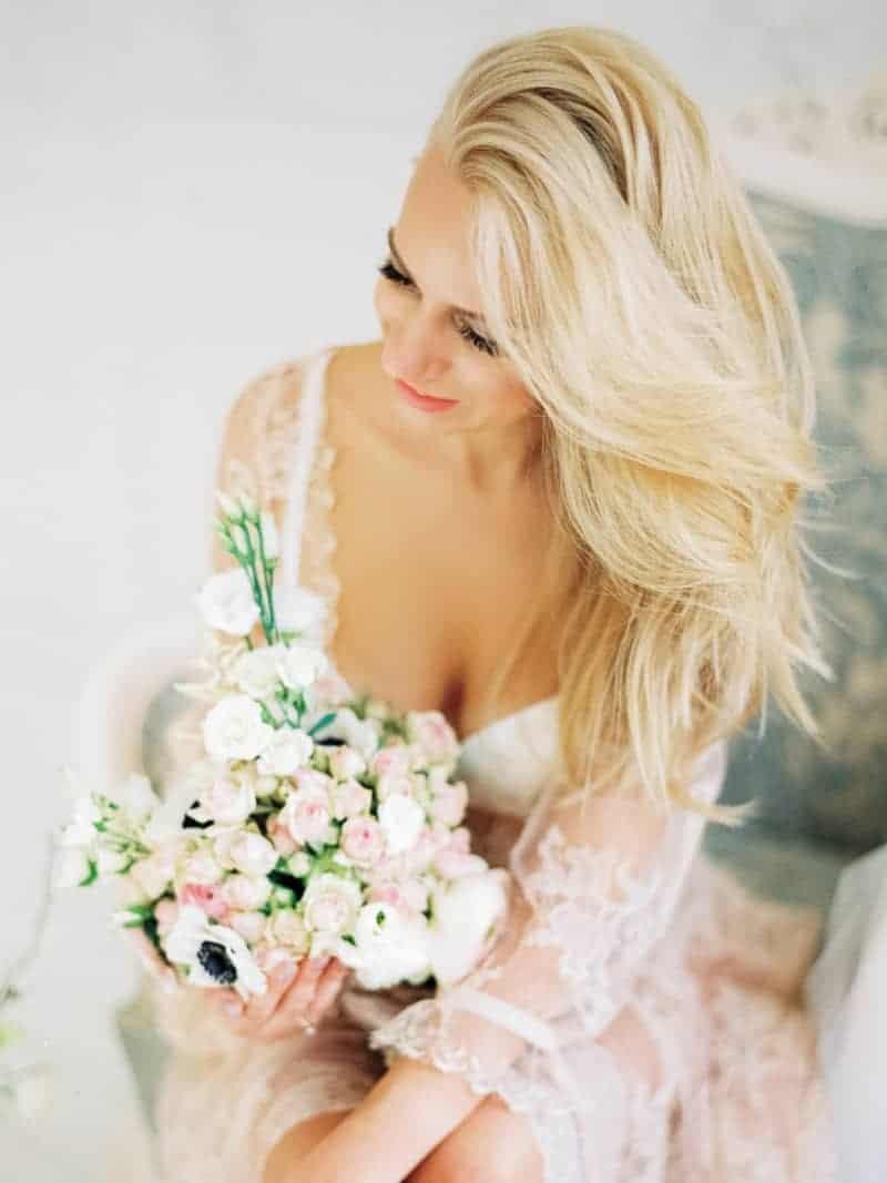 Soft Romantic Boudoir Shoot Session Bespoke Bride 16