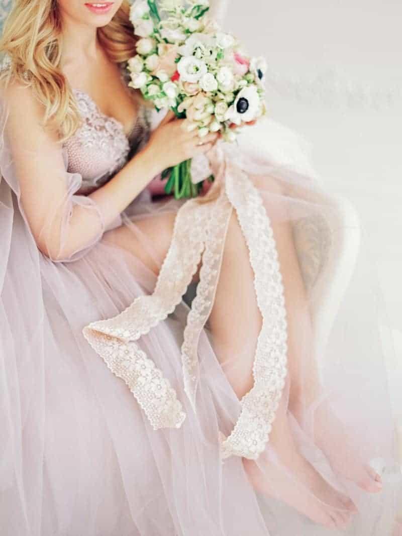 Soft Romantic Boudoir Shoot Session Bespoke Bride 30