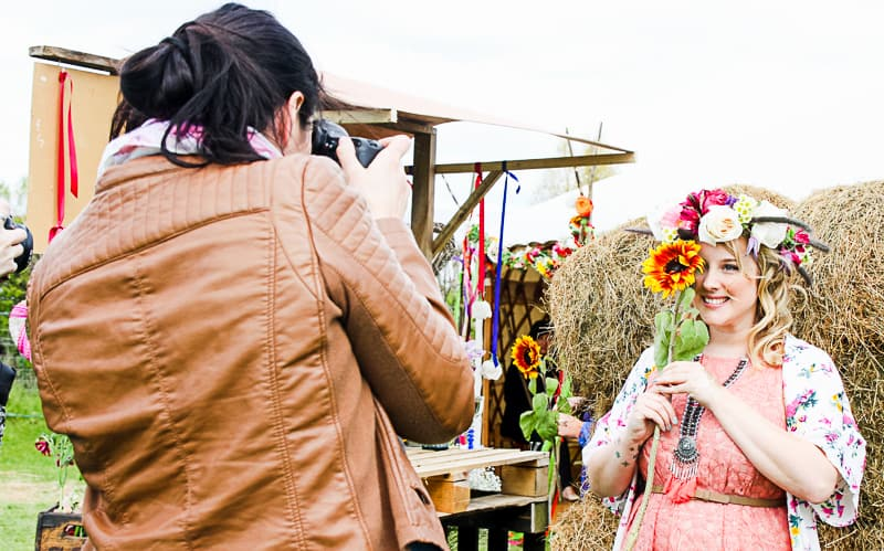 Behind the scenes Free People Festival Wedding Inspiration with Bespoke Bride-8