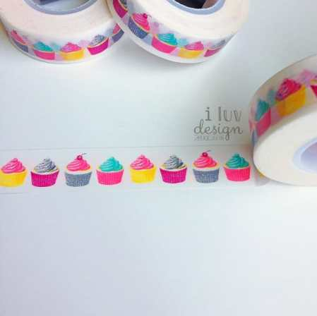 Cupcake Washi Tape