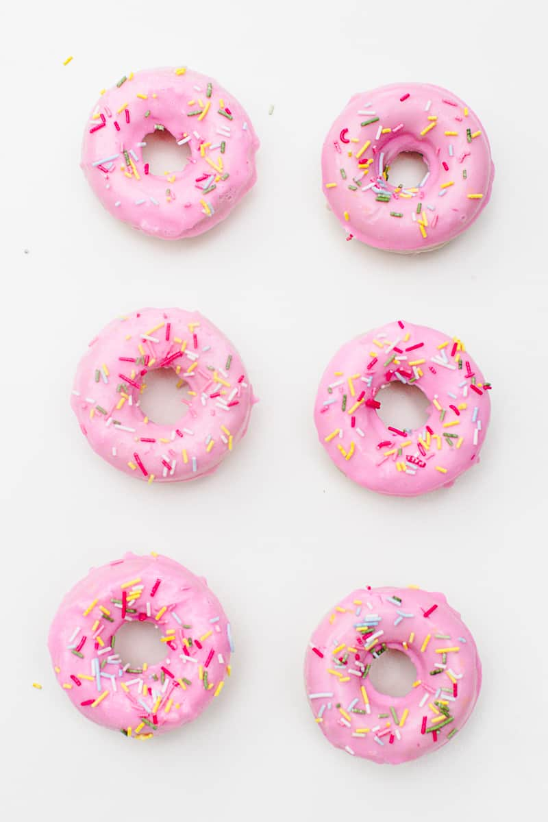 DIY Donut Soap Favours Sprinkles Doughnut Melt and pour-5
