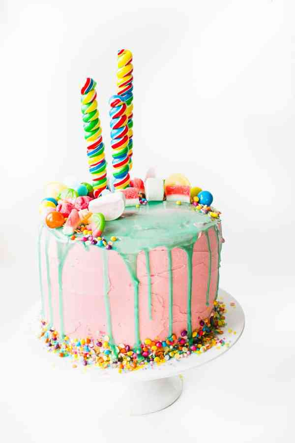 Katherine Sabbath Inspired Cake tutorial katy perry themed decorating cake White-9