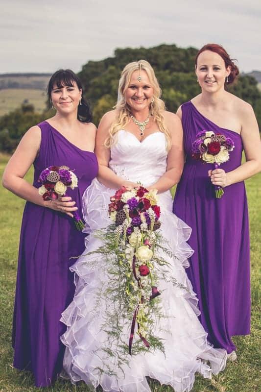 Sharlene and Zane's Bold Woodland Wedding in a treehouse (18)