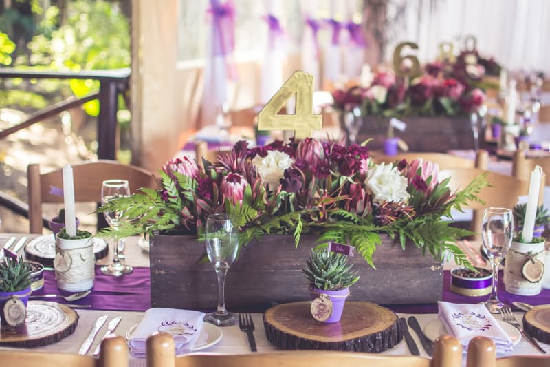 Sharlene and Zane's Bold Woodland Wedding in a treehouse  (8)