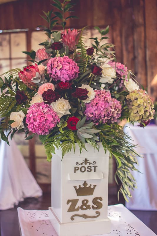 Sharlene and Zane's Bold Woodland Wedding in a treehouse (9)