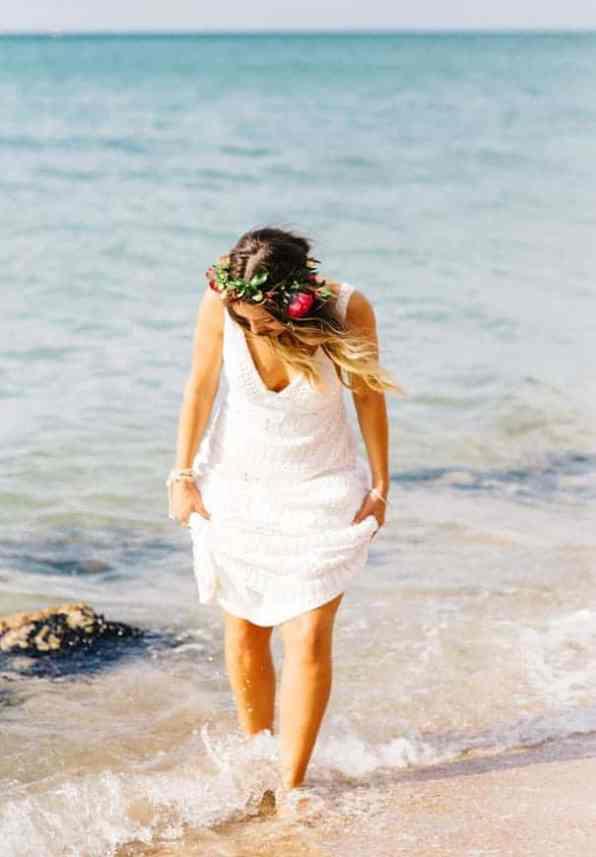 Hippie Beach wedding in Melboure Hello May