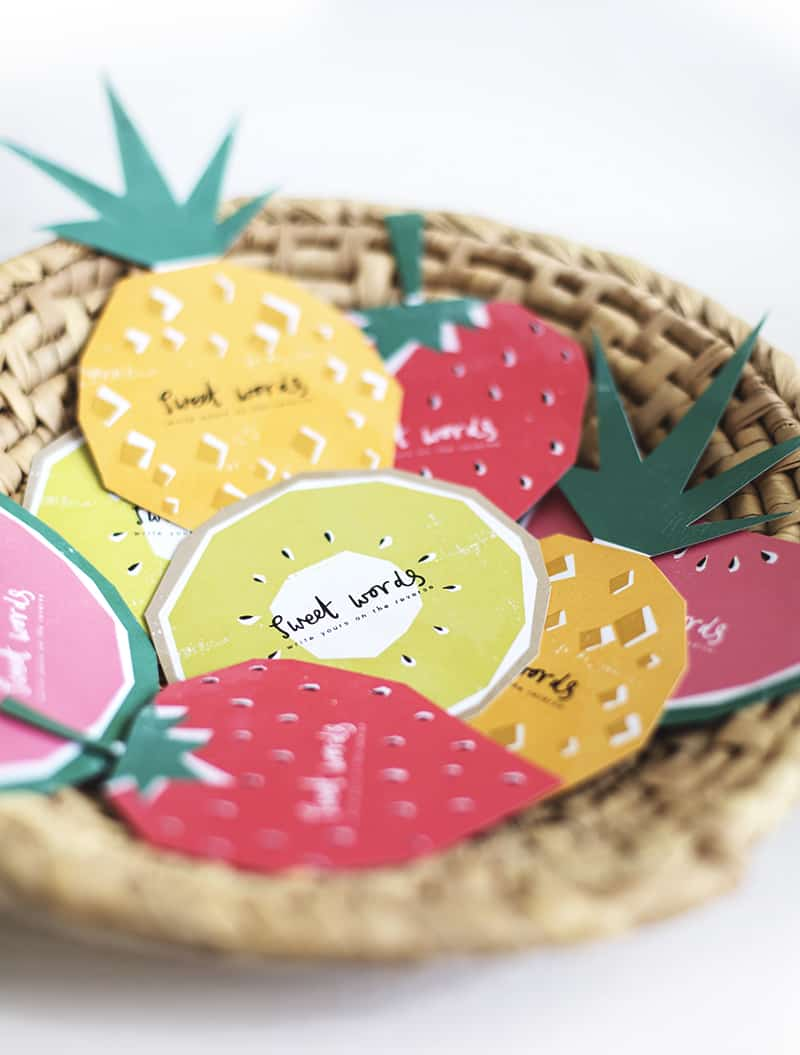 FREE PRINTABLE FRUIT THEMED CARDS FOR GUEST BOOK WELL ...