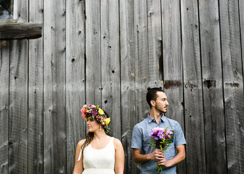 Bohemian Boho bridal shower flower crowns bachelorette hen party gypsy outside shoot fesival style-37