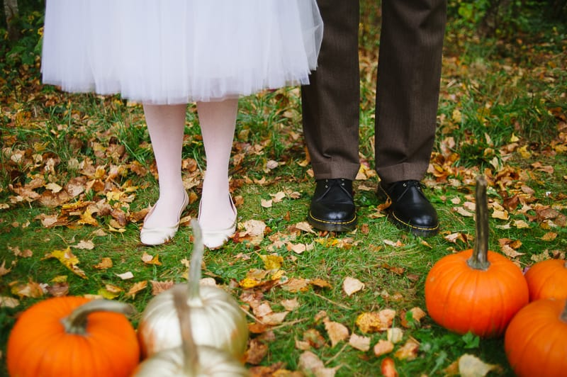 A FUN & QUIRKY FALL VEGAN WEDDING WITH A TACO TRUCK AND PUMPKIN DECORATIONS! (6)