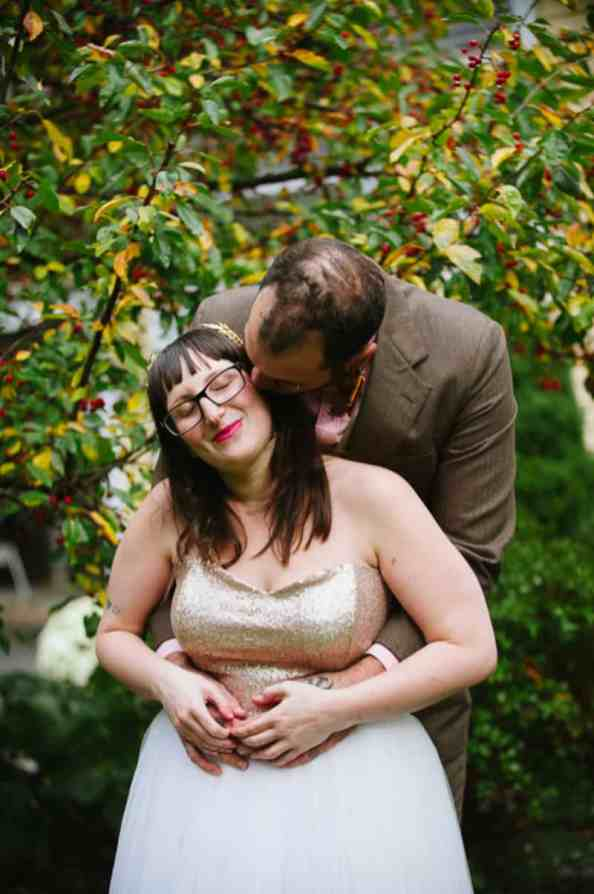 A FUN & QUIRKY FALL VEGAN WEDDING WITH A TACO TRUCK AND PUMPKIN DECORATIONS! (9)