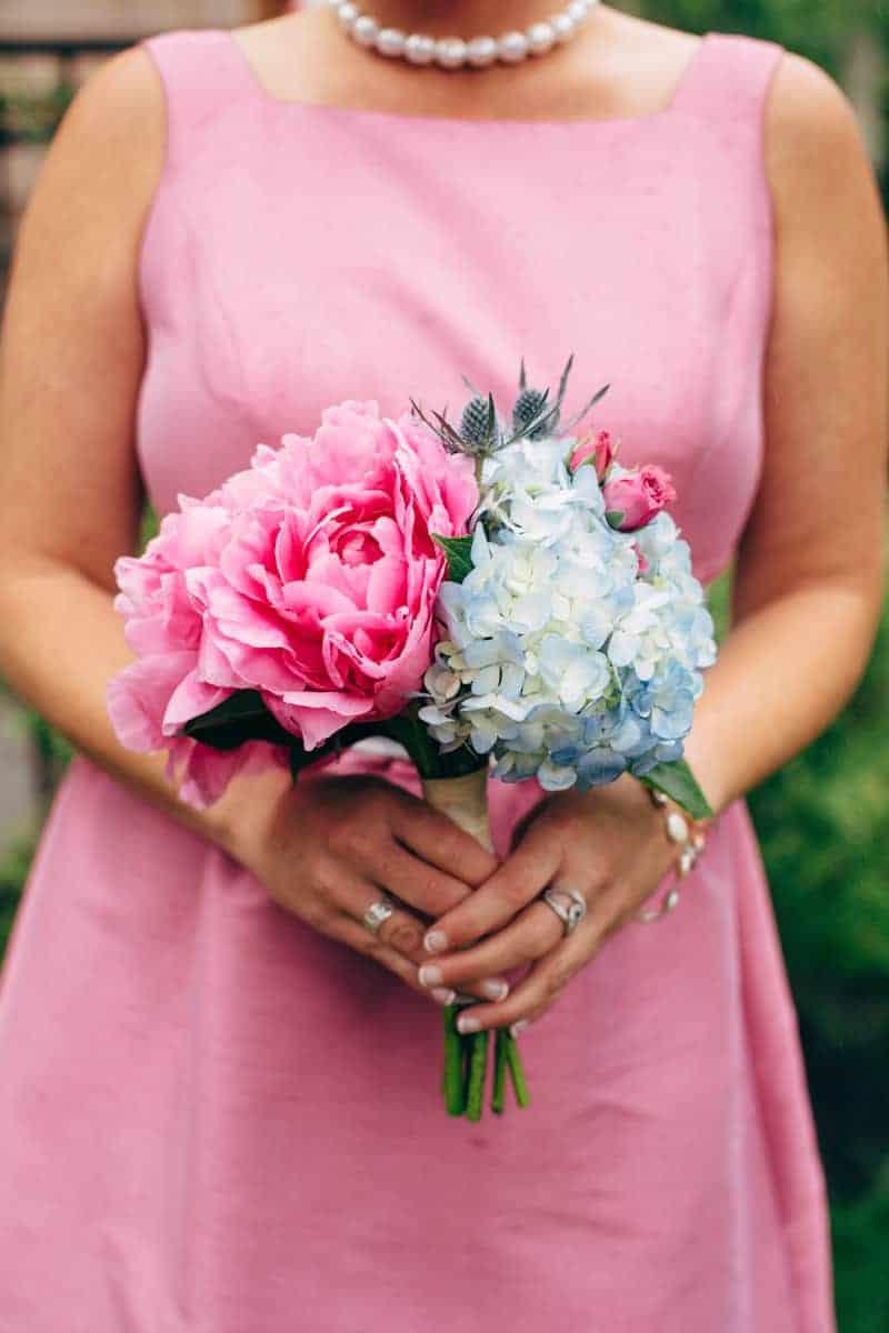 Backyard Flamino themed DIY Wedding in South Hampton USA  (17)