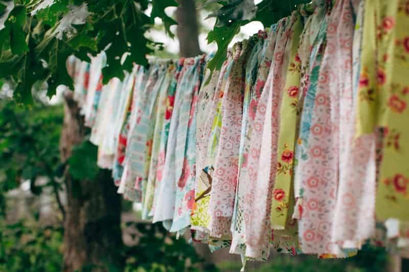 Backyard Flamino themed DIY Wedding in South Hampton USA  (5)