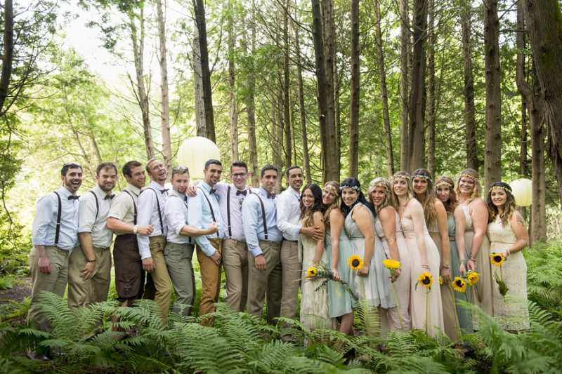 THIS FREE SPIRITED TRAVEL BLOGGER'S BOHEMIAN FOREST WEDDING IS A DREAM COME TRUE! (20)