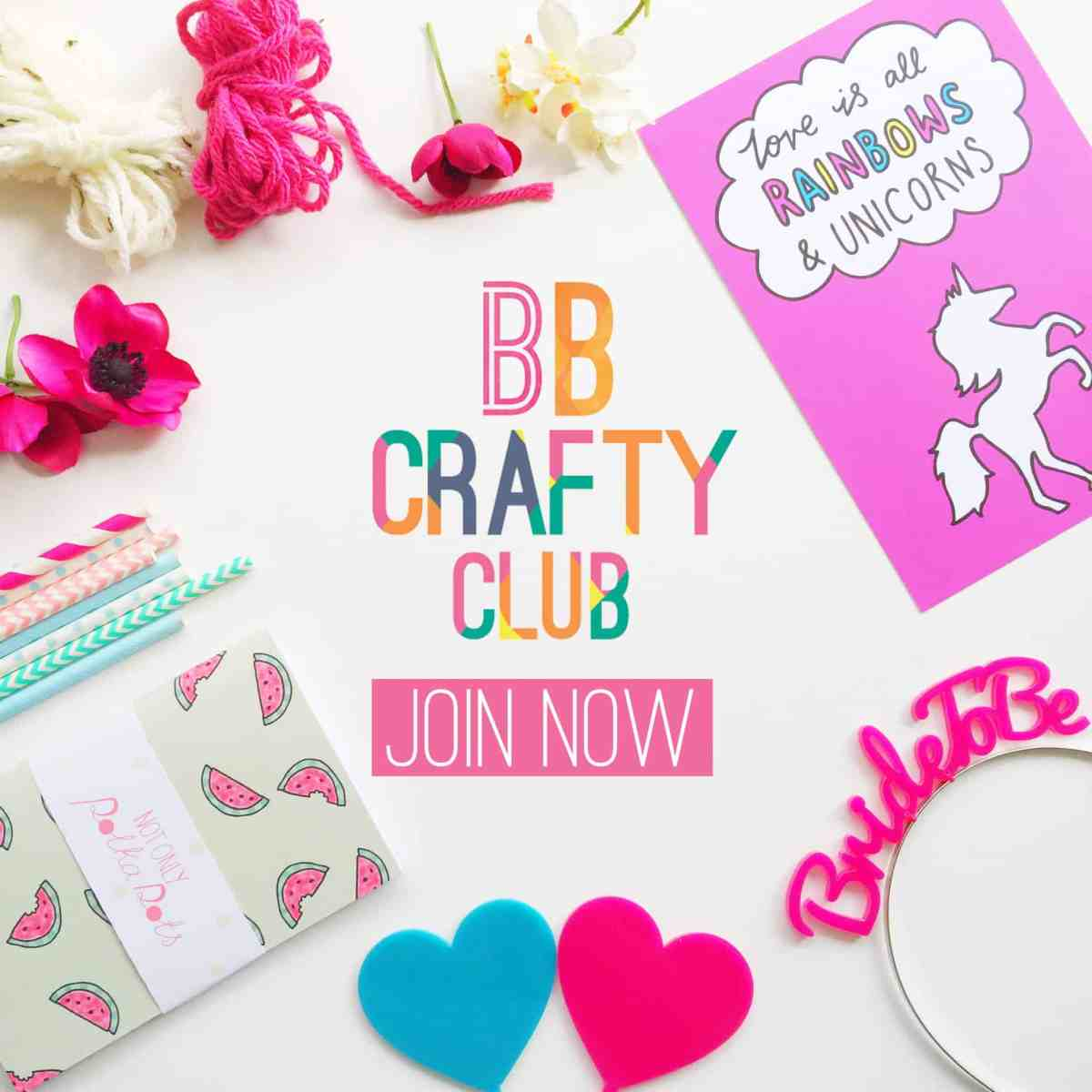 BB Crafty Club Join Now