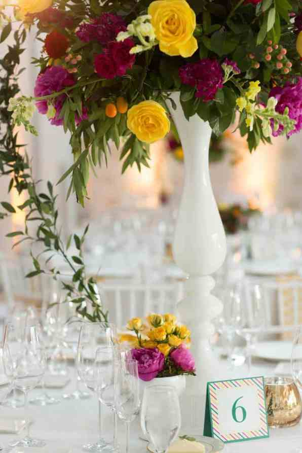 Bold & Vibrant wedding with an oversized Confetti wedding cake! (16)