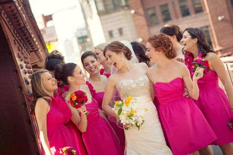 Bold & Vibrant wedding with an oversized Confetti wedding cake! (2)