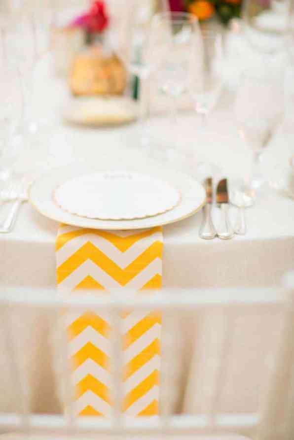Bold & Vibrant wedding with an oversized Confetti wedding cake! (3)