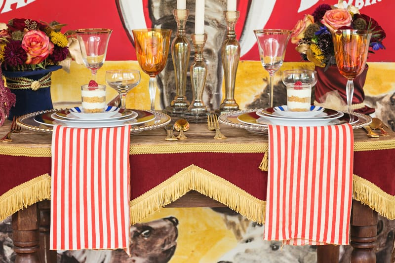 Circus Carnival Wedding Inspiration Theme 10