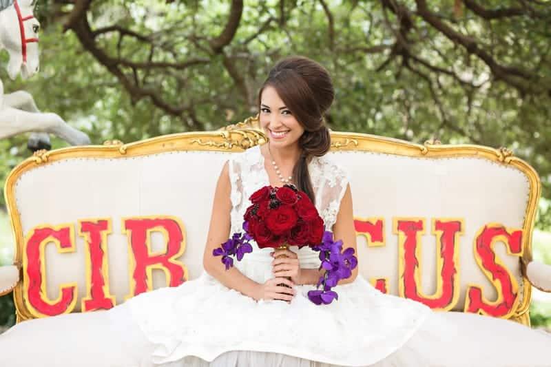 Circus Carnival Wedding Inspiration Theme 23